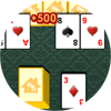 Play Tri Peaks Solitaire