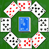 Play Two Rings Solitaire